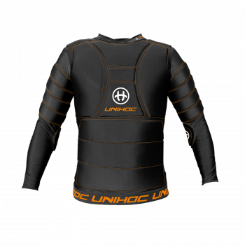 Unihoc Goalie T-shirt Flow Black