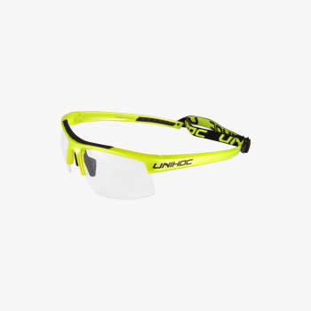Unihoc Eyewear Energy Junior Lime Yellow/Black