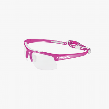 Unihoc Eyewear Energy Kids Cerise/White