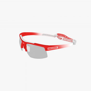 Zone Eyewear Protector Kids White/Red