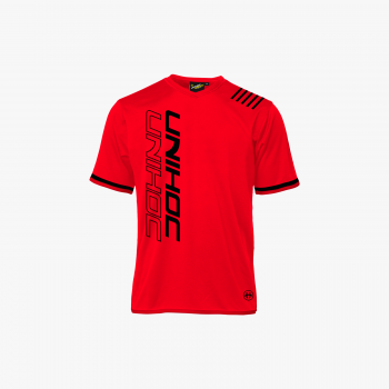 Unihoc T-shirt Vendetta Red/Black