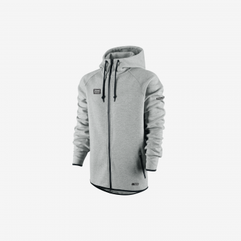 Zone Hood Zip Hitech Grey
