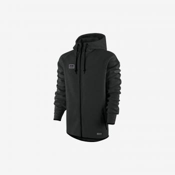 Zone Hood Zip Hitech Black