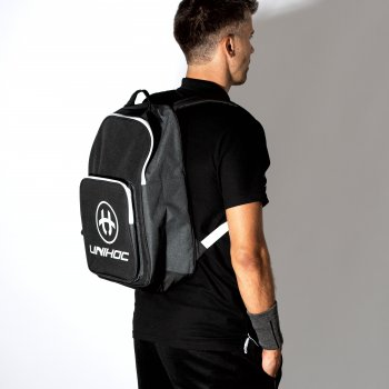 Unihoc Backpack TACTIC Black/White