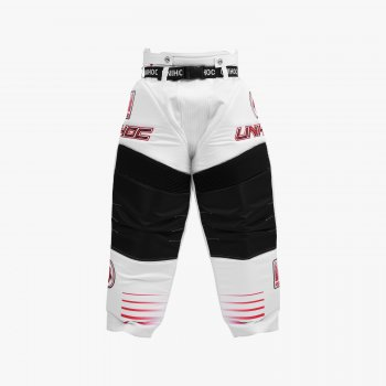 Unihoc Pants INFERNO White/Neon Red