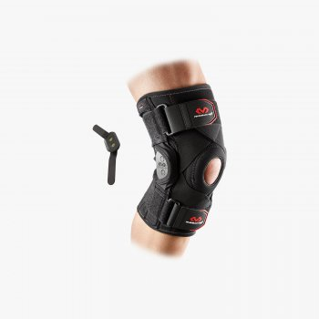 McDavid 429X Knee Brace With Polycentric Hinges And Cross Straps