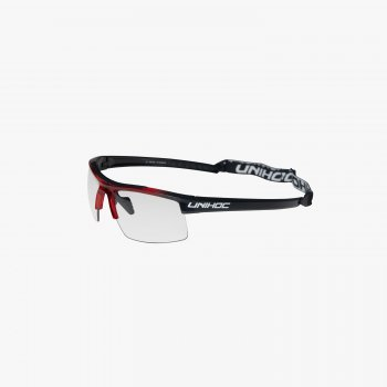 Unihoc Eyewear ENERGY Junior Crystal Black/Red