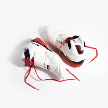 Unihoc U4 Goalie White/Red
