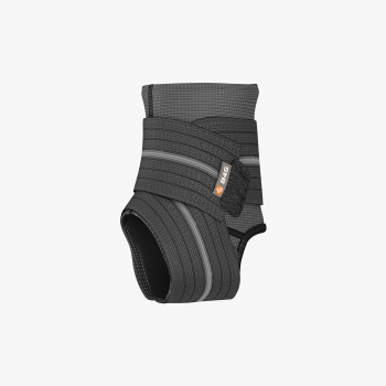 ShockDoctor 845 Ankle Sleeve w Compression Wrap Support