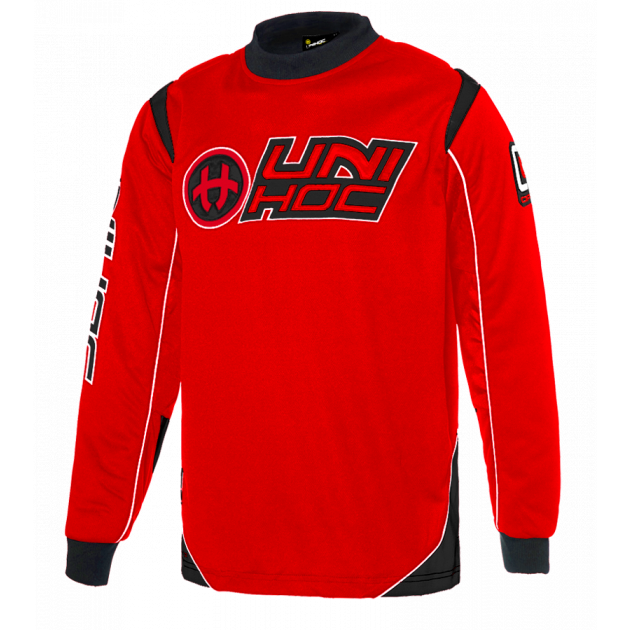 Unihoc Goalie Sweater Optima Red