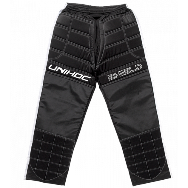 Unihoc Goalie Pants Shield Black