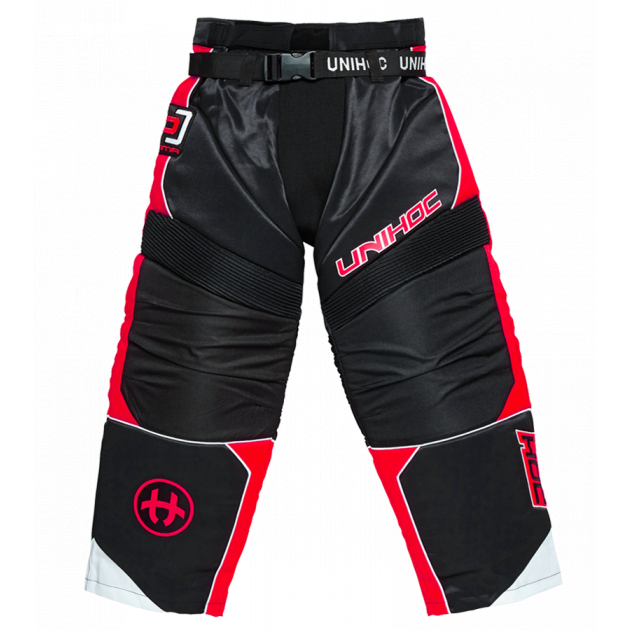 Unihoc Goalie Pants Optima Black/Red