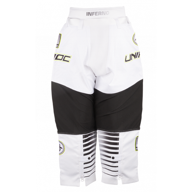Unihoc Goalie Pants Inferno White