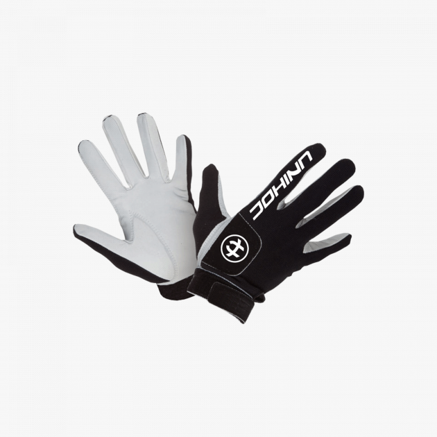 Unihoc Goalie Gloves PRO Black