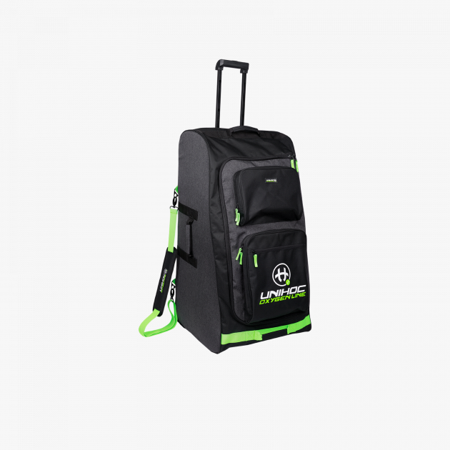 Unihoc Goalie Bag Oxygen Line Large Black