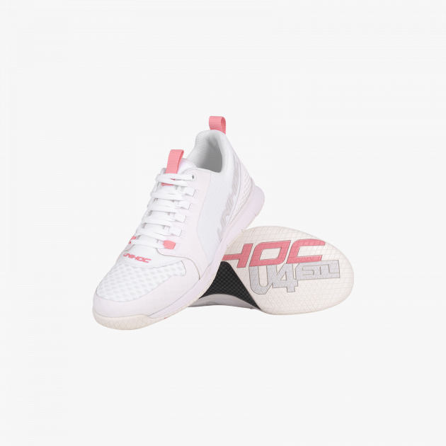 Unihoc U4 Plus Lowcut Women White/Pink
